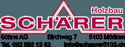 Holzbau Schärer Logo